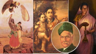ভারতের প্রখ্যাত চিত্রশিল্পী রাজা রবি বর্মার প্রয়াণ দিবস