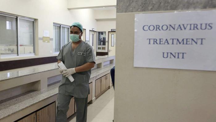 ভুটানের একটি হাসপাতালে করোনা ভাইরাসের রোগীদের জন্য ইউনিট। ছবি: দ্যা ইকোনমিক ইউনিট