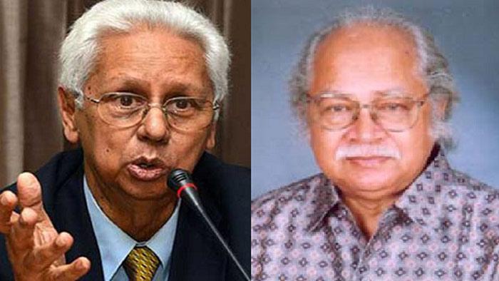 কূটনীতিবিদ সৈয়দ মোয়াজ্জেম আলী এবংপ্রত্নতত্ববিদ এনামুল হক। ছবি: সংগৃহীত