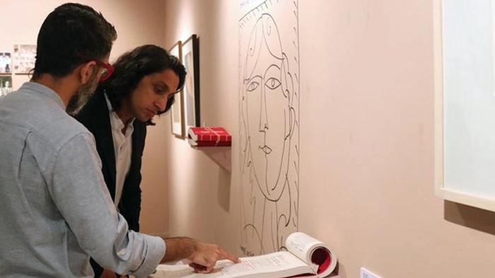 ঢাকা আর্ট সামিট পরিদর্শন করছেন রাদওয়ান মুজিব সিদ্দিক- সংগৃহীত
