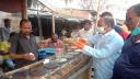 জয়পুরহাটে বিনামূল্যে হ্যান্ড স্যানিটাইজার দিল বিসিএসআইআর