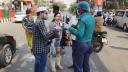 রাস্তায় কড়াকড়ি: ভোগান্তিতে ব্যাংকাররা