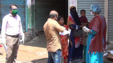 আশুগঞ্জে ১১ দোকান সিলগালা, ১৫ নারীকে জরিমানা