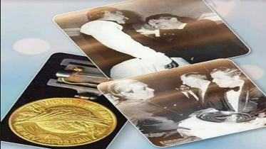 শান্তির পদক 'জুলিও কুরি'তে ভূষিত হয়েছিলেন বঙ্গবন্ধু