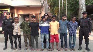 কুমিল্লায় সংঘবদ্ধ চক্রের ৭ সদস্য গ্রেফতার