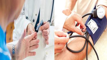 আশঙ্কাজনক হারে বাড়ছে উচ্চ রক্তচাপ এবং ডায়াবেটিস