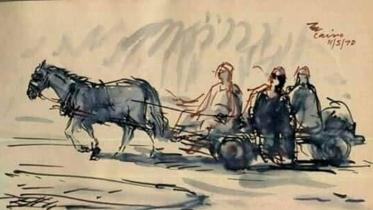 ২০ লাখ টাকায় বিক্রি হলো শিল্পাচার্যের স্কেচ
