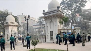 খালেদার জামিন শুনানি: আদালতে কঠোর নিরাপত্তা