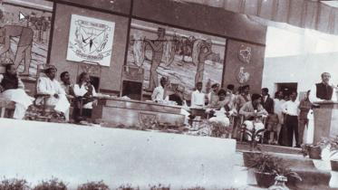 বাংলাদেশ কৃষি বিশ্ববিদ্যালয়ে বঙ্গবন্ধুর ঐতিহাসিক ভাষণ
