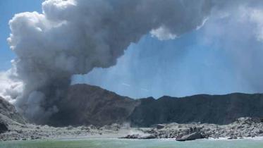 নিউজিল্যান্ডে পর্যটকদের মাঝে হঠাৎ আগ্নেয়গিরির অগ্নুৎপাত