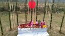 ঠাকুরগাঁওয়ে বাঁশের তৈরি শহীদ মিনার