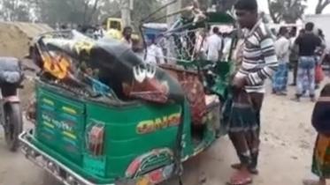বেগমগঞ্জে পিকআপ-অটোরিকশা সংঘর্ষে মা-মেয়ে নিহত