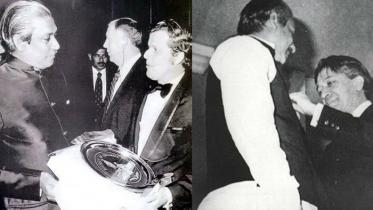 বঙ্গবন্ধুর 'জুলিও কুরি' শান্তি পদক প্রাপ্তির ৪৭তম বার্ষিকী আজ