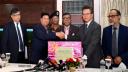 করোনা মোকাবেলায় চীনকে চিকিৎসা সরঞ্জাম দিয়েছে বাংলাদেশ