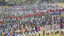 চাঁপাইনবাবগঞ্জে বর্ণিল বিজয় র্যালি