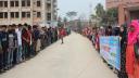 জনসংযোগ পরিচালককে লাঞ্ছিত করার প্রতিবাদে হাবিপ্রবিতে মানববন্ধন