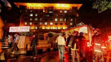 ইউনাইটেড হাসপাতালে অগ্নিকাণ্ডের ঘটনায় তদন্ত কমিটি