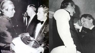 বঙ্গবন্ধুর 'জুলিও কুরি' শান্তি পুরস্কার দেশের প্রথম সম্মান
