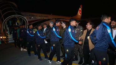 পাকিস্তান পৌঁছেছে বাংলাদেশ জাতীয় ক্রিকেট দল