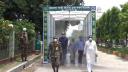 রাজবাড়ীতে করোনা জীবানুমুক্ত টানেল উদ্বোধন