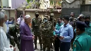 গাজীপুরে নজরদারিতে মাঠে সেনাবাহিনী