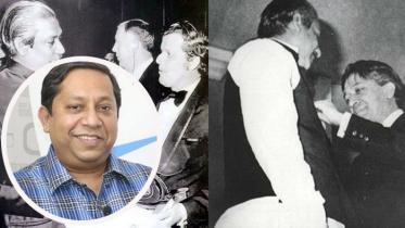 জুলিও কুরি শেখ মুজিব