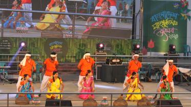 বাংলাদেশ সাংস্কৃতিক উৎসবের ১৪তম দিনে অস্টক পালা