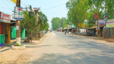 করোনাতঙ্কে এনায়েতপুর-চৌহালীর ব্যস্ততম এলাকা ফাঁকা
