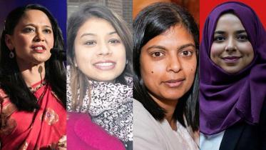 ব্রিটেনের নির্বাচনে আলোচনায় ৪ বাঙালি নারী