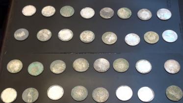 সিরাজগঞ্জে প্রাচীন আমলের ৩২টি রৌপ্য মুদ্রা উদ্ধার