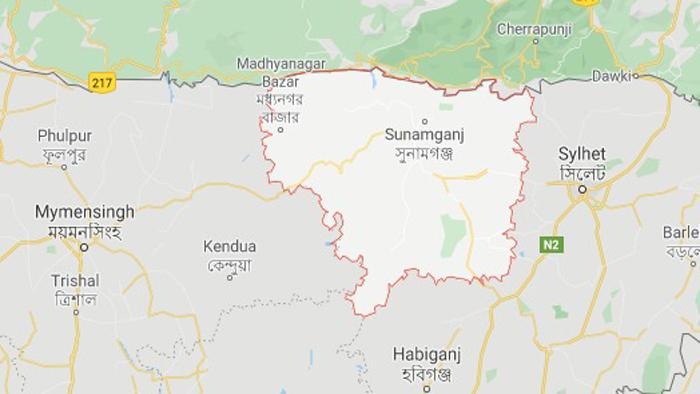 সুনামগঞ্জ ম্যাপ