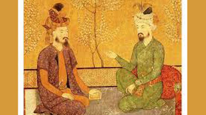 সম্রাট বাবর ও পুত্র হুমায়ুন