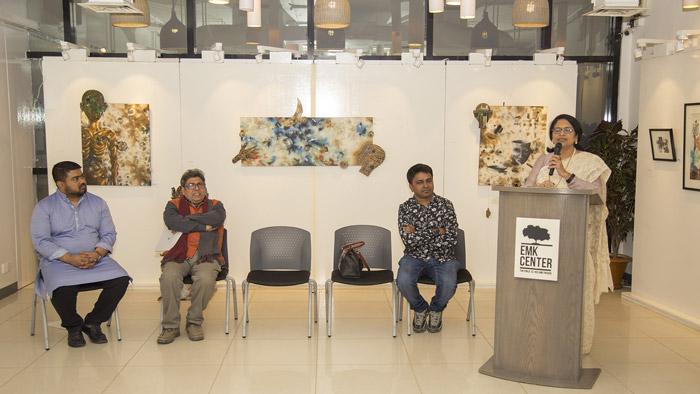 বিপ্লব কর'র দ্বিতীয় একক চিত্র প্রদর্শনী