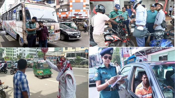 ঢাকায় ফের শুরু 'ট্রাফিক শৃঙ্খলা কার্যক্রম'