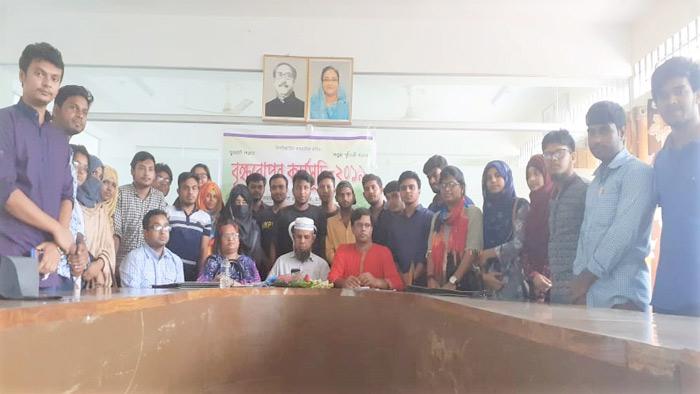 হাবিপ্রবিতে গ্রীন ভয়েস'র নতুন কমিটি