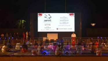 শিল্পকলায় গ্রেনেড হামলার ভয়াবহতা নিয়ে স্থাপনা শিল্প