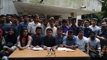 'সাত কলেজের অধিভুক্ত বাতিল নয়, সুষ্ঠু সমাধানের আন্দোলন'