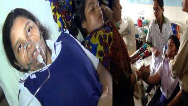 মশার ঔষধ স্প্রে'তে ১৪ শিক্ষার্থী হাসপাতালে