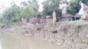 বাঙ্গালি নদীর ভাঙনে বসতভিটে হারালো ৭৫ পরিবার