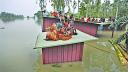 চরম দুর্ভোগে কুড়িগ্রামের সাড়ে ৯ লাখ বানভাসী মানুষ