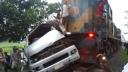 সিরাজগঞ্জে ট্রেনের ধাক্কায় বর-কনেসহ ৯ জন নিহত