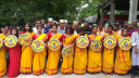গোবিন্দগঞ্জ মঙ্গল শোভাযাত্রা অনুষ্ঠিত হয়েছে