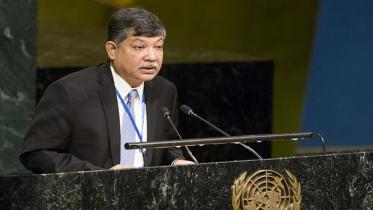 'রোহিঙ্গা সংকট নিরসনে আন্তর্জাতিক চাপ অব্যাহত রাখতে হবে'