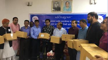 সম্প্রীতি বাংলাদেশ'র উদ্যোগে বন্যার্তদের জন্য রিলিফ