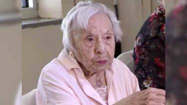 শত বছর বেঁচে থাকার রহস্য ফাঁস করলেন মার্কিন এই নারী