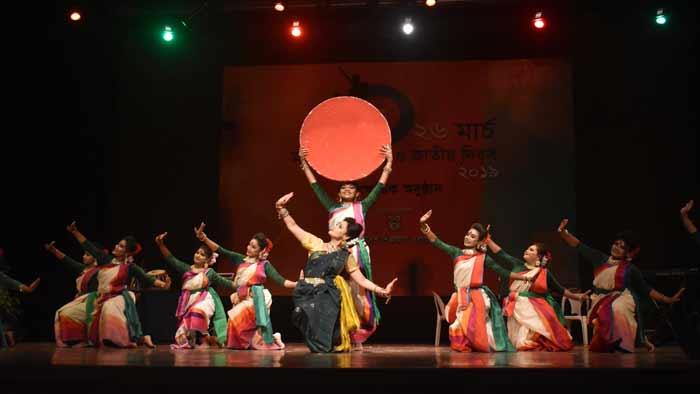 শিল্পকলায় স্বাধীনতা দিবসে বর্ণাঢ্য আয়োজন