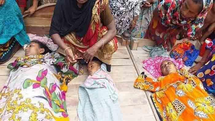 শার্শায় শাশুড়ির নির্যাতনে মা ও দুই শিশুর আত্মহত্যা