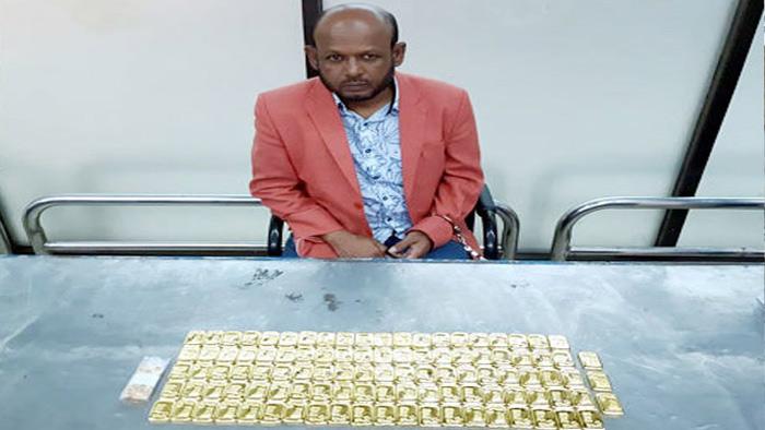 শাহজালালে ৫ কোটি টাকার স্বর্ণসহ যাত্রী আটক