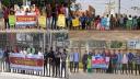 পেঁয়াজের দাম বৃদ্ধির প্রতিবাদে সিসিএস-সিওয়াইবির মানববন্ধন