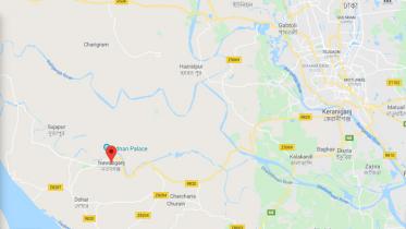 নবাবগঞ্জে অটোরিক্সা-বাইক সংঘর্ষ, কলেজছাত্র নিহত
